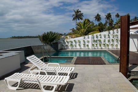 Paraíso de frente para a Lagoa - Barra Nova/AL - House