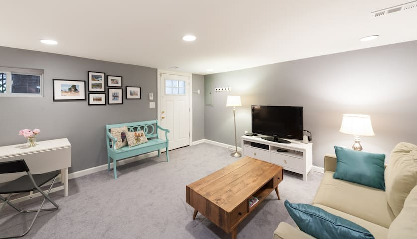Comfy Private 1BD Apt in the City - Waszyngton - Dom