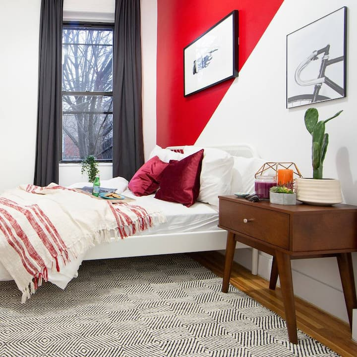 Stylish Private BR in Fort Greene Cumberland