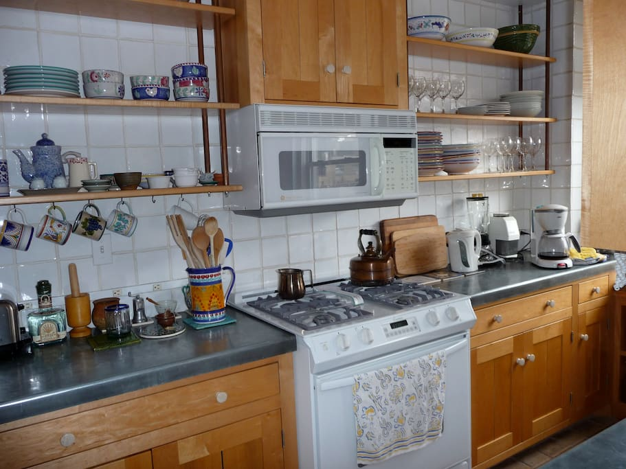 Kitchen includes dishwasher and microwave.