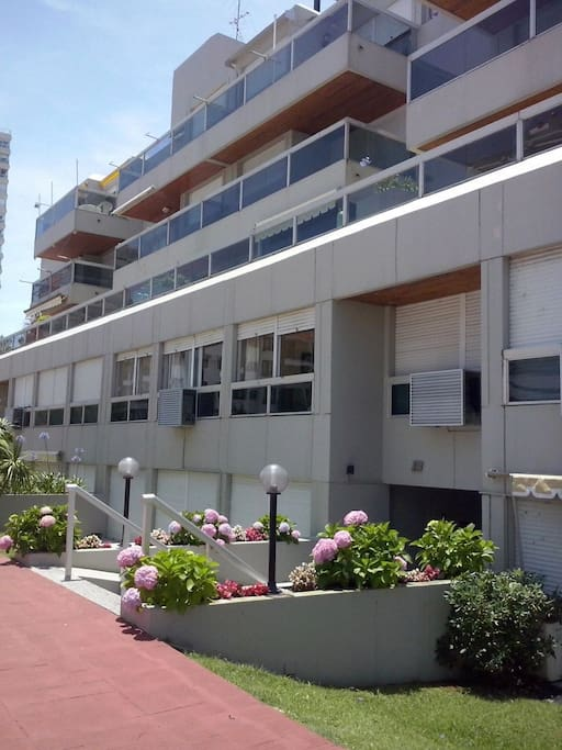 Frente del apartamento