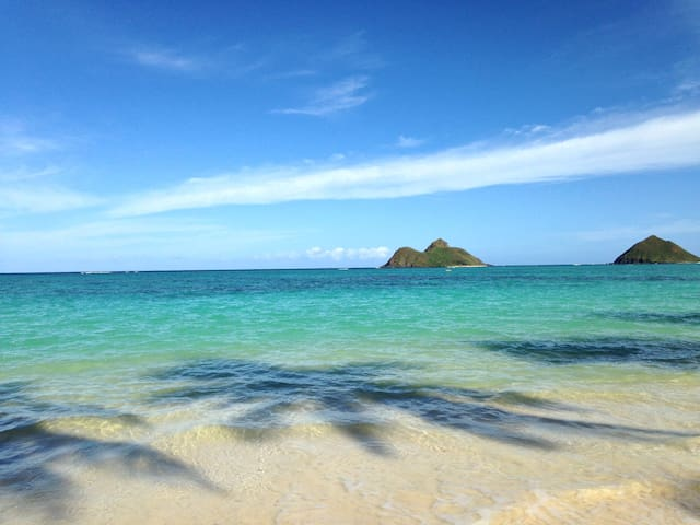 Just a minute to Lanikai beach DB