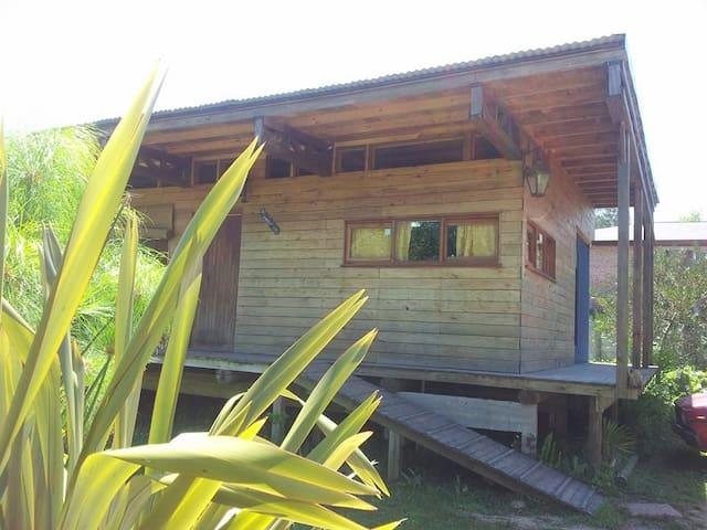 Beautiful wood house in La Barra - El Tesoro
