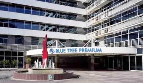 Excelente Flat Hotel Blue Tree Verbo Divino- SP.