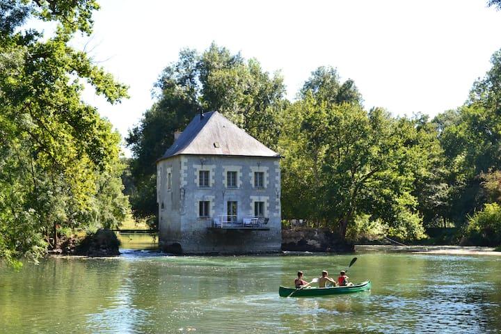 Moulin coeur vallée de la Loire - Monts