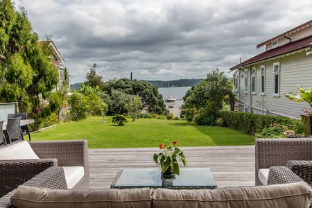 CITY, water views @ beach access - Auckland - Bed & Breakfast