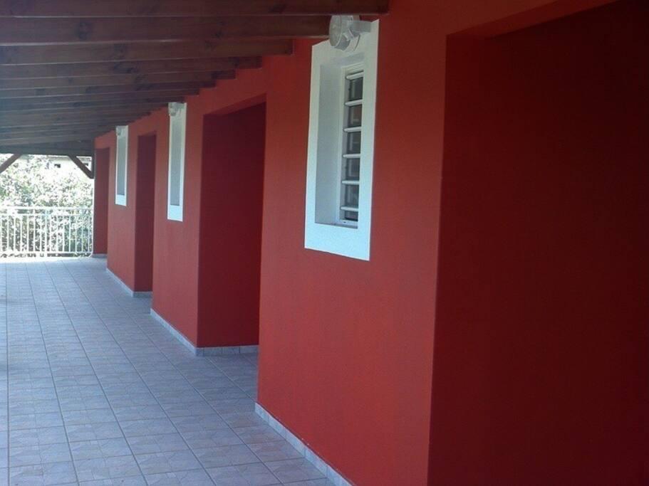 Long Balcon des Studios