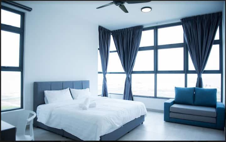 【Atlantis 2 Bedroom】SeaView★WiFi★Jonker★1-8pax