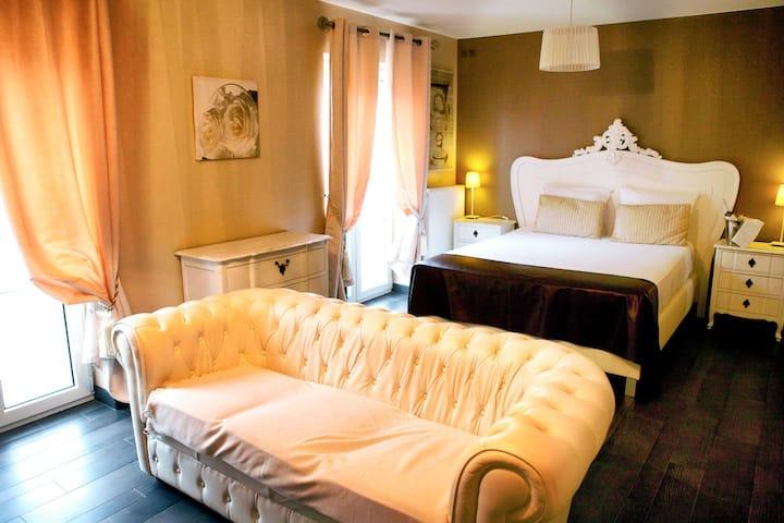 Hôtel Verone Liège - Chambre Romantique