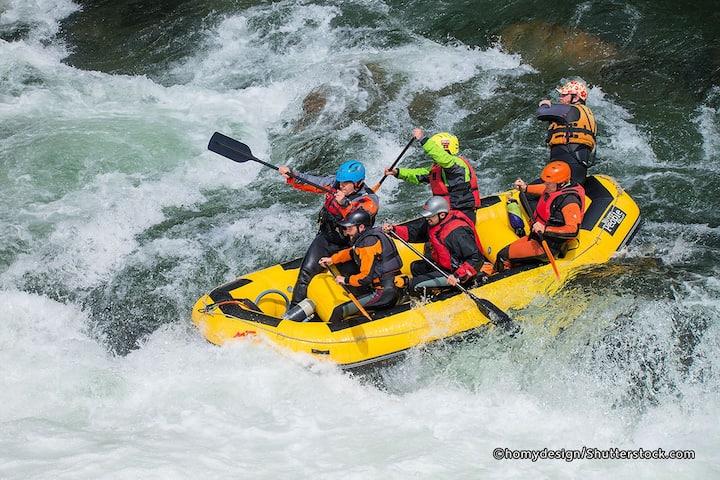 ubud rafting experience