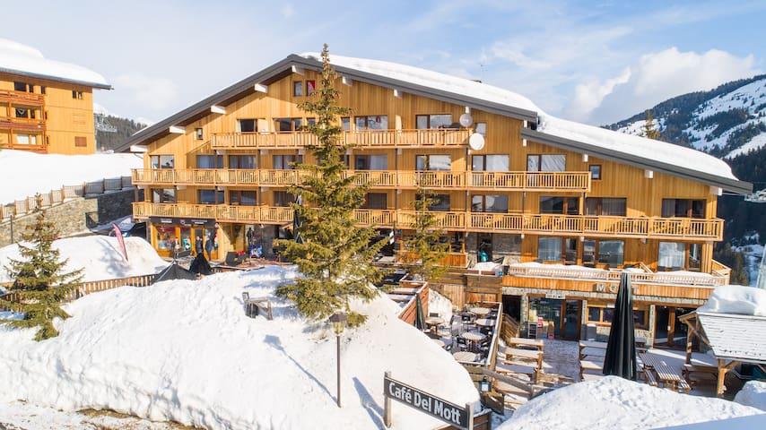 Chambre Cosy ski aux pieds | Centre du domaine Les 3 Vallées!