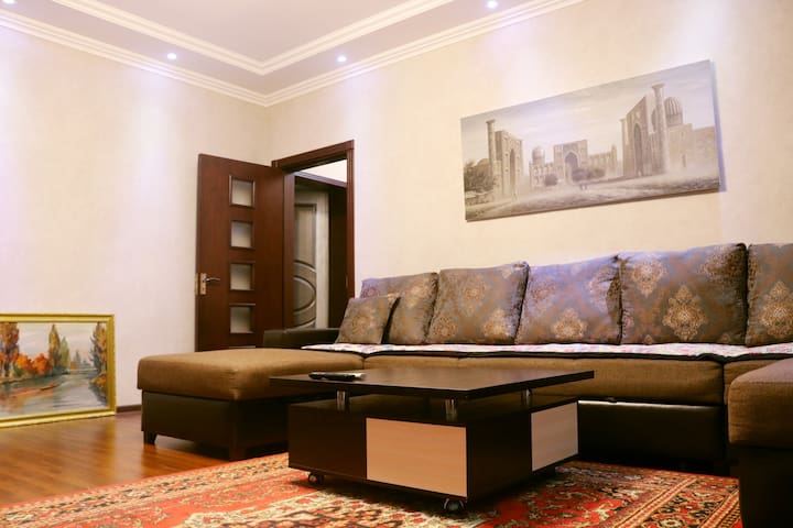 Your cosy place in  the heart of Tashkent !