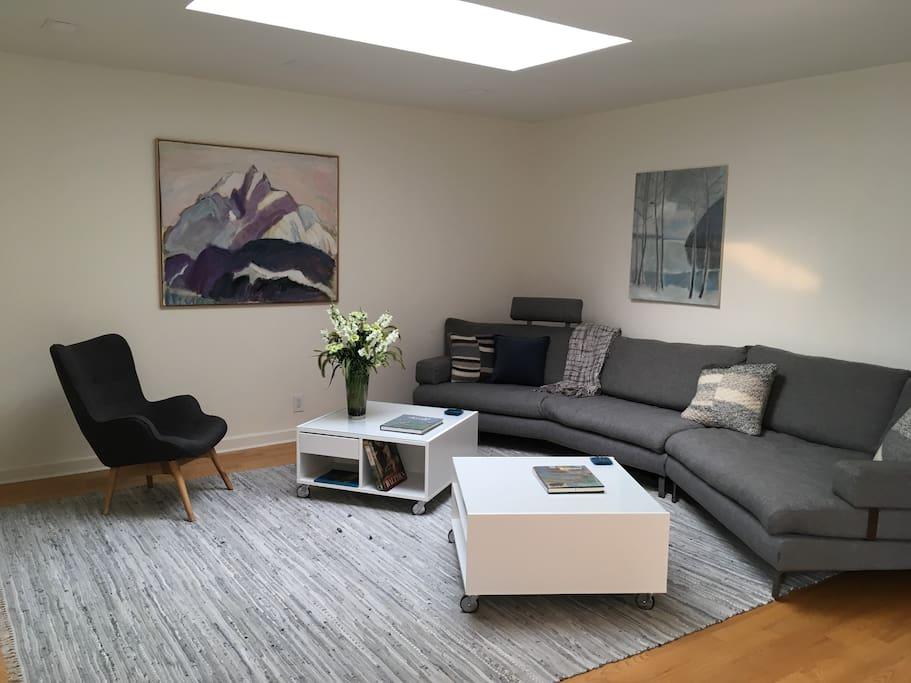 Huge, super comfortable sofa