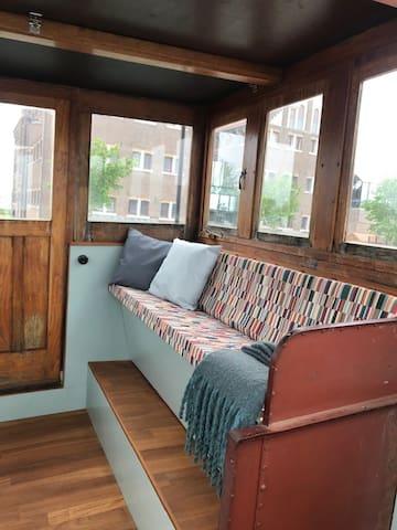 Wheelhouse with a view!