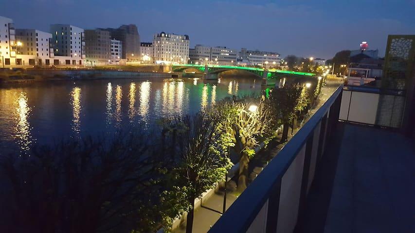Chambre tout confort - L'Île-Saint-Denis - Appartement
