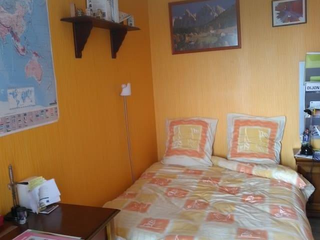Chambre particulière à Dijon - Dijon - Apartment