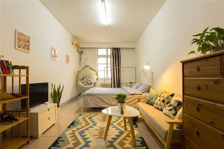 【阿方的家】中关村近北大清华人大温馨两居室~ - 北京 - Appartement