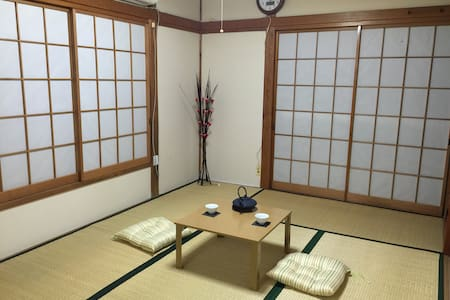 Let's stay in Japanese traditional style room - 葛飾区 - Ev