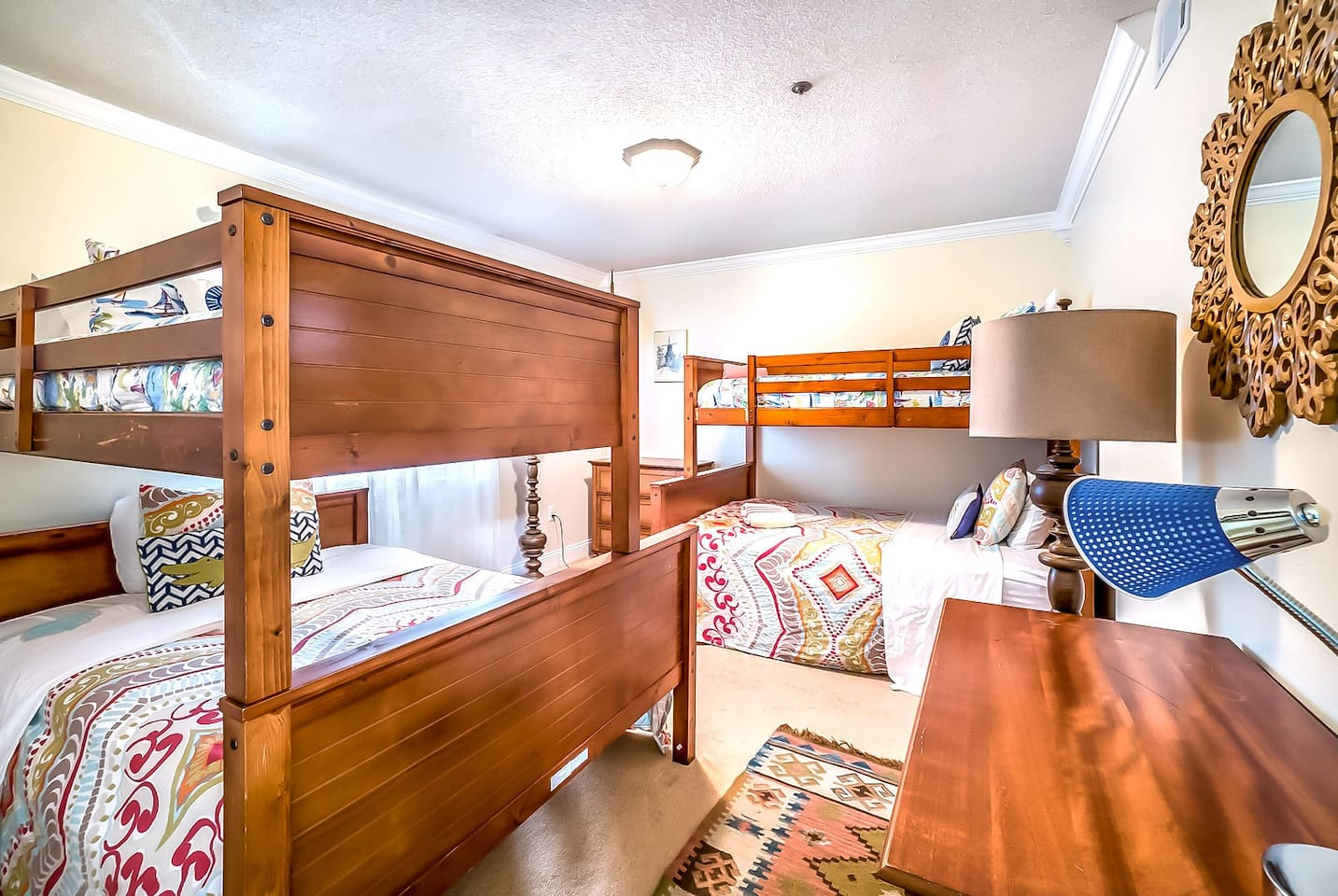 Bunk Room - a full over queen and a twin over full