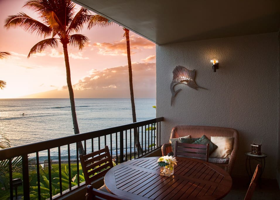 One View of the Lanai...
