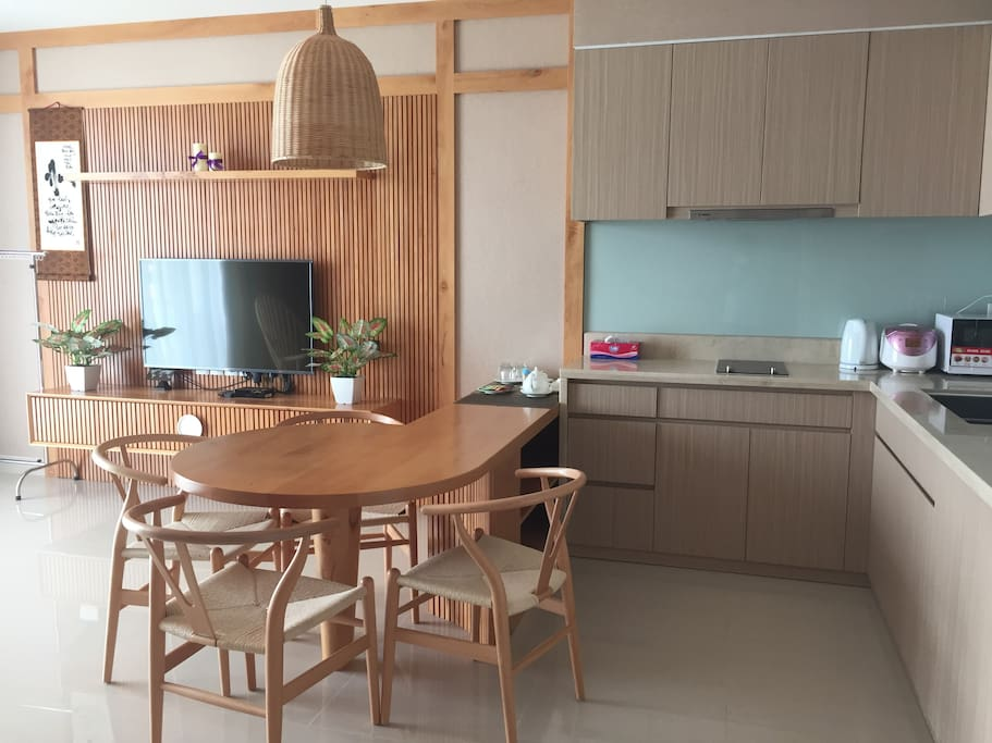 A simple but lovely decoration kitchen