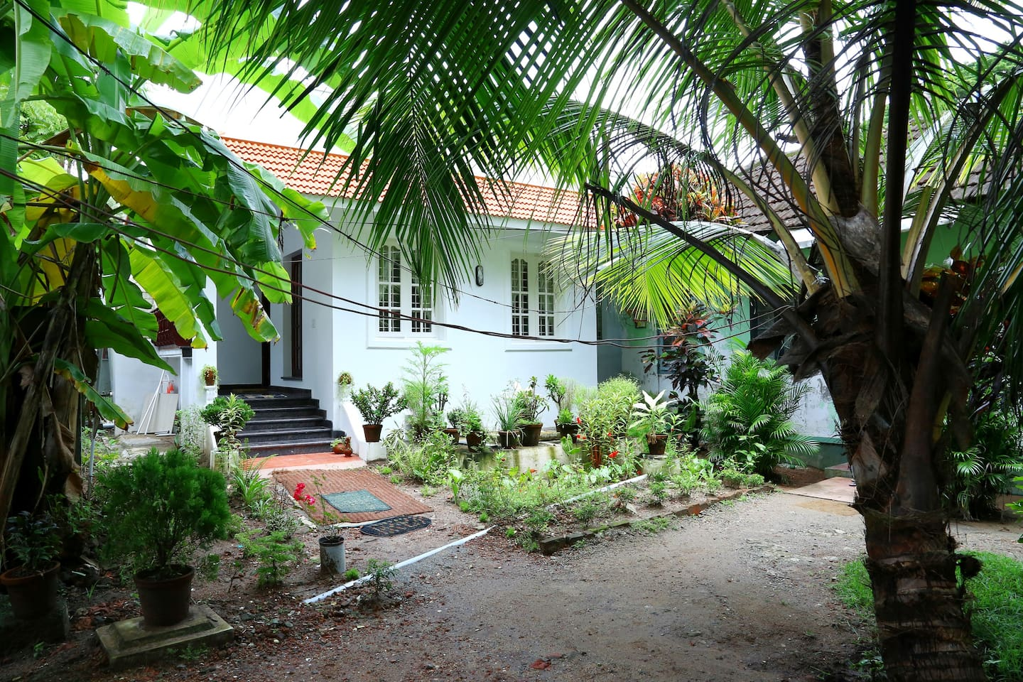 The entrance to our beautiful homestay