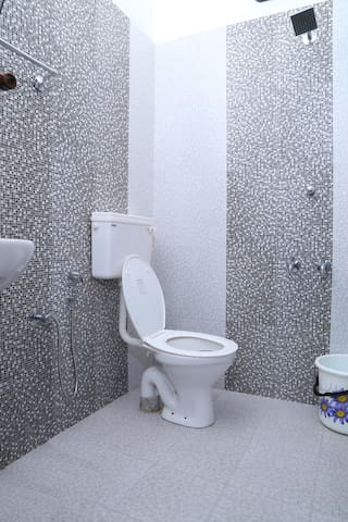 Your private bathroom with shower