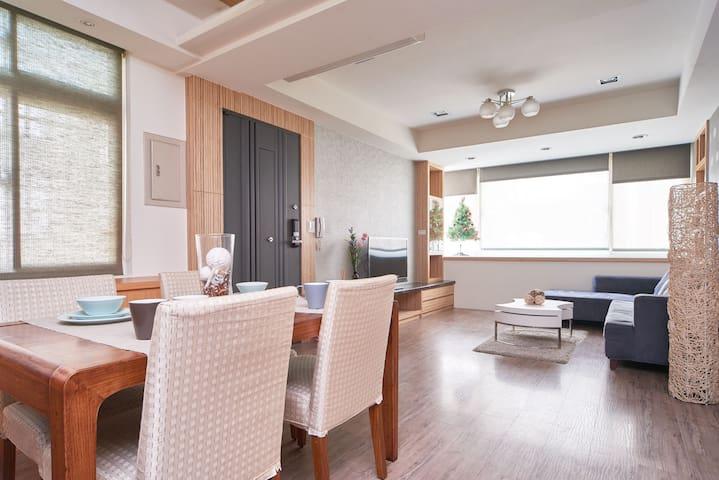 ようこそ Modern apartment@Tai Power mrt - Taipei - Apartament