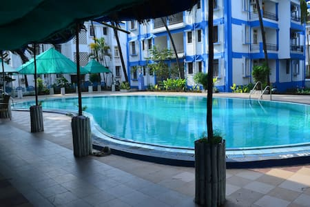 Charming appartment candolim beach - Apartament