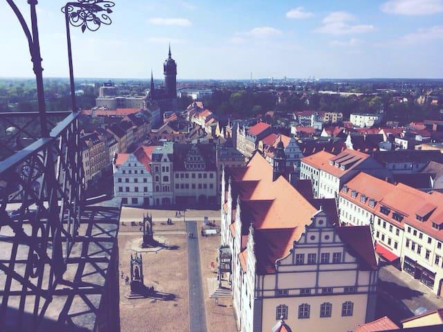 Ruhige Wohnung an der Schlosskirche - Lutherstadt Wittenberg - Apartment