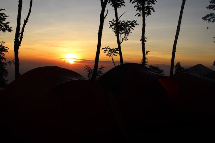 Sunrise Camp in Kintamani (Tent Only)