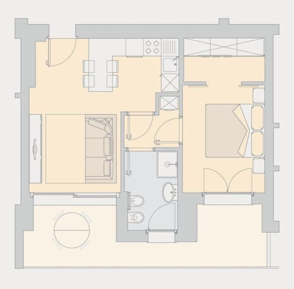 PLANIMETRIA/apartment map