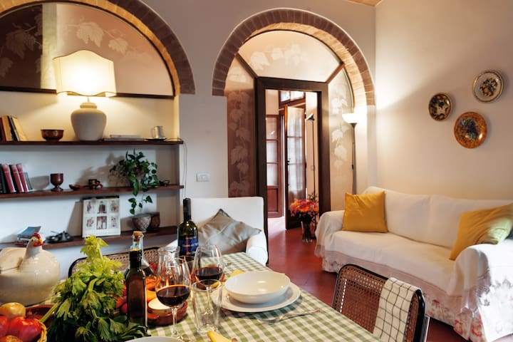 Uva apartment with pool - Montespertoli - Dom