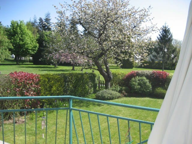 DINAN Centre à 1km Maison Lumineuse face au parc . - DINAN