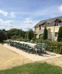 6 individual gites in the loire with shared pool - Breil