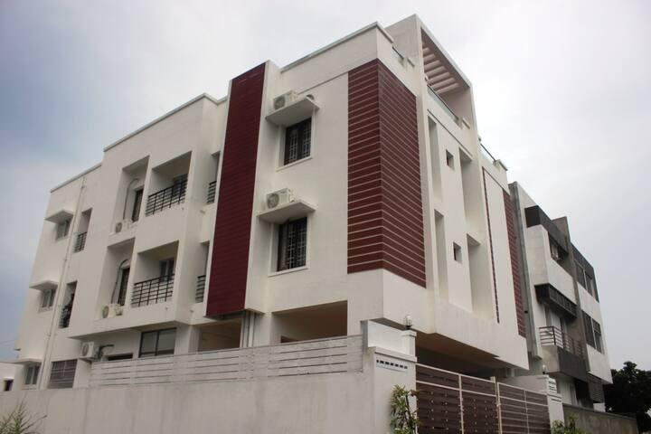 Vacation rentals Chennai ECR Beach  - Chennai - Byt