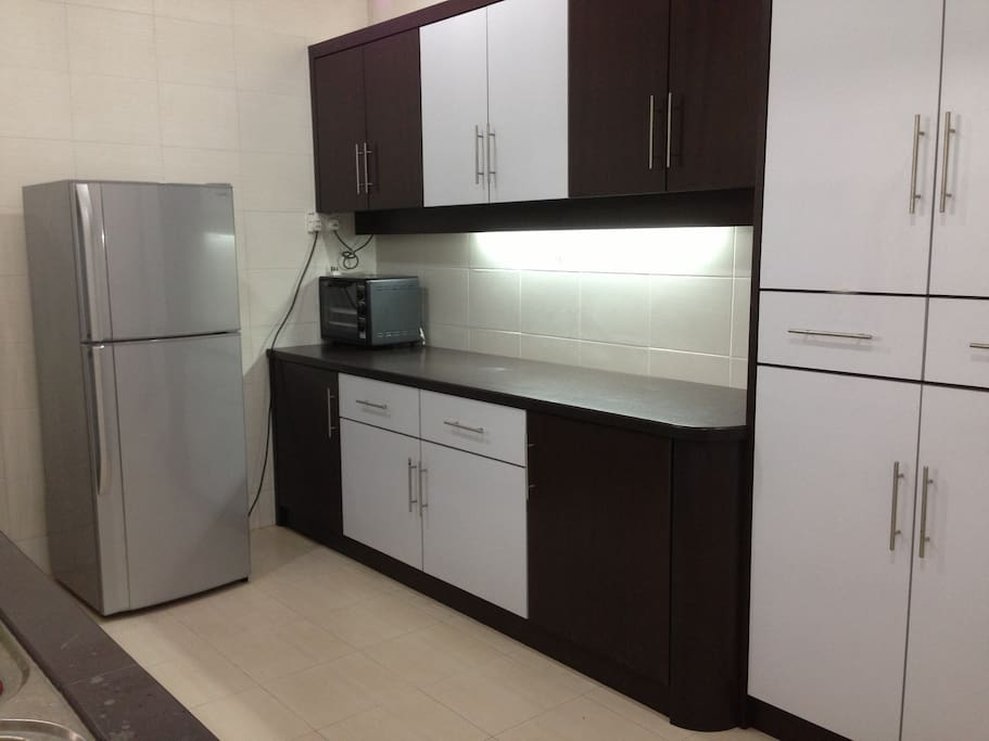 Large kitchen with fully equip