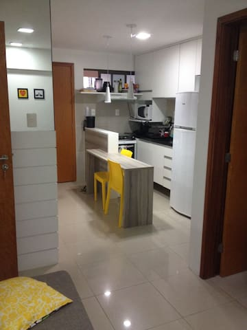 Flat Quarto e Sala p/ 4 Pessoas Recife Espinheiro - Recife - Appartement