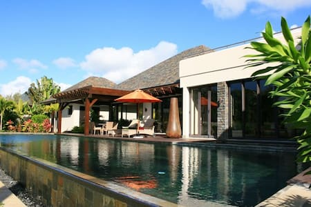 Luxury Anahita Villa, Mauritius - La Place Belgath - Casa de camp