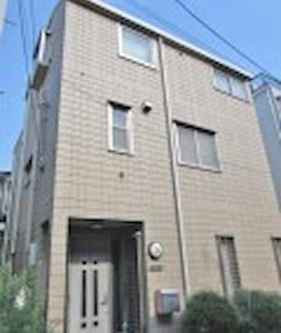 中心区域高级日式别墅的1楼整层(包含2间日式榻榻米的套房)/Japanese style room - Katsushika-ku - House