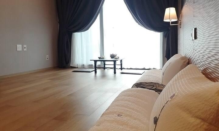 강릉 씨베이 호텔 (디럭스 한실 )