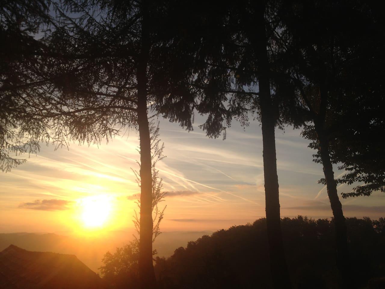 Beautiful sunrise every morning