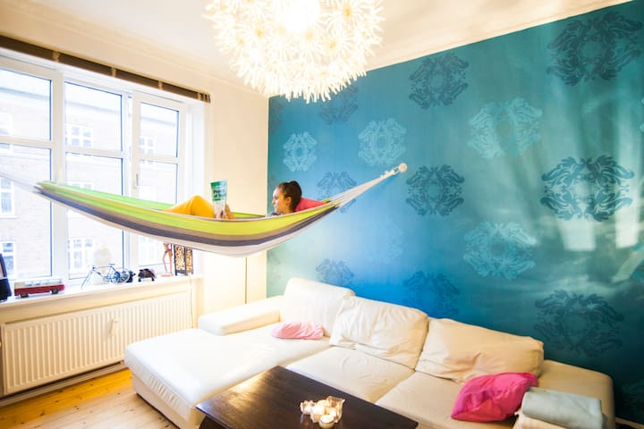 Spacious, functional & homely in the heart of CPH