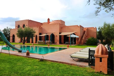 Gorgeous Villa with Panoramic View - Marrakech - Vila