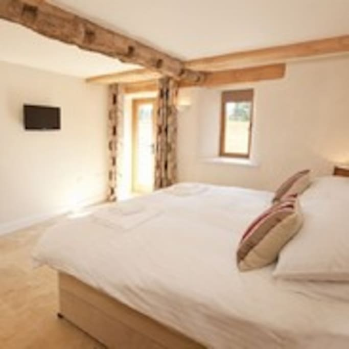 One of the six large ensuite bedrooms