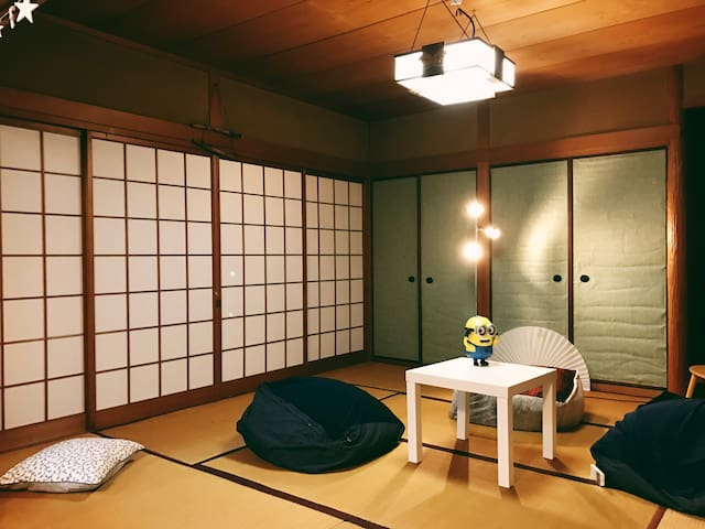 #NEW  2min to Nagahoribashi station!Private room