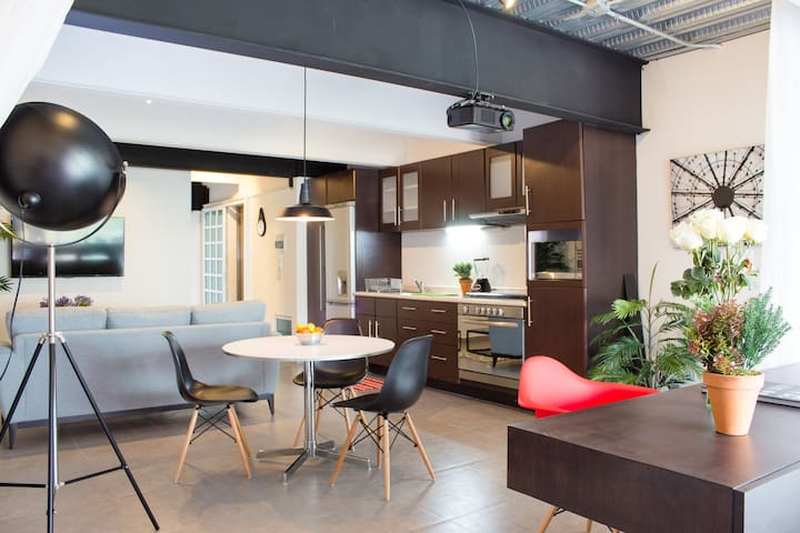 Trendy Suite W/ Terrace in POLANCO - Mexico City - Loft