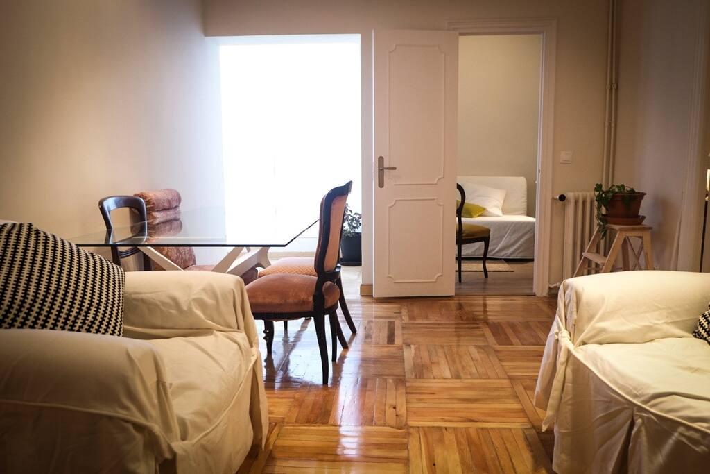 Atocha luz calma y comodidad parking x 8 d a apartamentos en alquiler en madrid - Apartamentos baratos madrid por dias ...