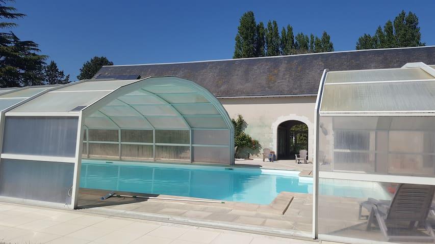Chambre d'hôte 2 - Moulin de Bacchus - Chançay - Pension