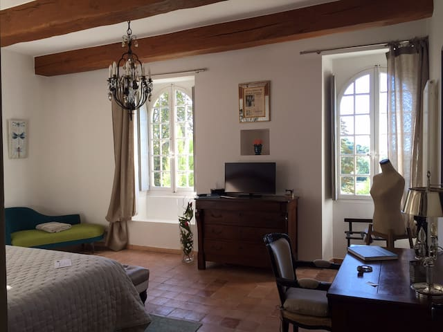 Chambre Chêne au Château de Saint Félix - Saint-Félix-de-Pallières - Dům pro hosty